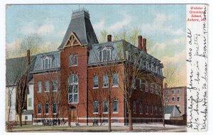 Auburn, Me, Webster Grammar School
