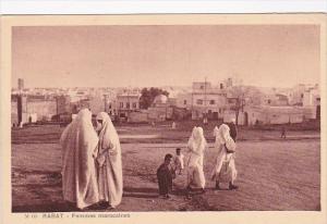 Morocco Rabat Femmes Marocaines