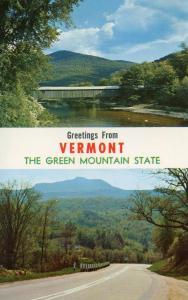 VT - Greetings, Covered Bridge