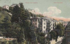 LUZERN, Switzerland, 1907; Gruss aus Luzern, Hotel Belvedere