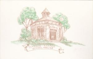 Missouri Watkins Mill Historic Site Octagon Shaped School House