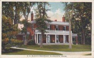 Maine Ellsworth G N Blacks Residence