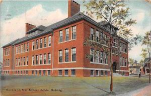 6988 ME  Rockland    McLain School Building