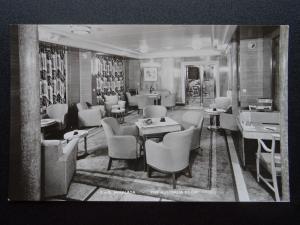Shipping P & O LINER - HIMALAYA - THE AUSTRALIAN ROOM c1950's RP Postcard