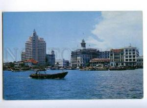 173344 SINGAPORE 18-storey building Old photo postcard