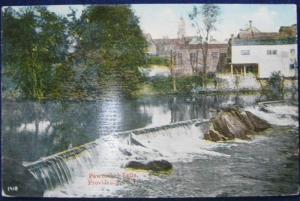 Pawtucket Falls Providence RI Chas Seddon 1418 Unposted