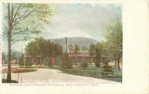 Exterior, Great Mormon Tabernacle, Salt Lake City, Utah e...