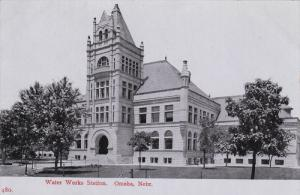 OMAHA, Nebraska, 1900-1910s; Water Works Station