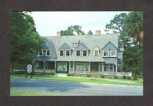 GA Macy Cottage House Jekyll Island Georgia Postcard Reception Center Club