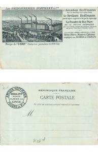 CPA AK ADVERTISING Les Amidonneries HOFFMANN & Cie - Poudre de Rize (307992)