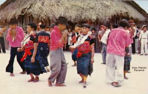 Indians dancing during festivities on the Day of the Indians on one of thei...