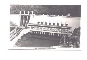 Real Photo  Model of Dam Roxburgh Hydro,  New Zealand