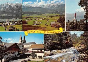 Gruss aus Weerberg, Unterinntal, Hochnissl-Spitze, Kirche St. Peter und Paul