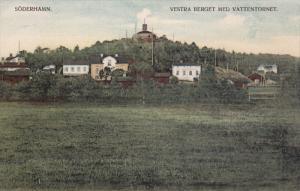 Soderhamn. Vestra Bergot Med Vattentornet , Sweden , 00-10s