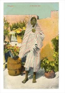 Tangier, A moorish girl , Morocco, 00-10s