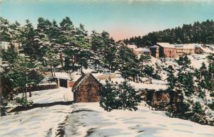 Semi-modern postcard France Peira Cava general view