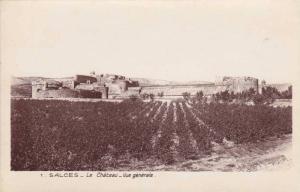 Vue Generale, Le Chateau, Salces, France, 1900-1910s