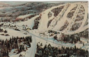 Manoir Saint-Castin , Lac Beauport , Quebec , Canada , 1950-60s ; Ski Slopes