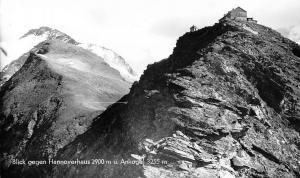 Blick gegen Hannoverhaus u. Ankogel Berg Mountains Landscape