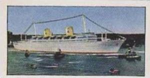 Golden Grain Tea Vintage Trade Card 1970 Passenger Liners No 6 Gripsholm
