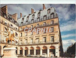 Postcard Modern Hotel Regina Paris Square sPyramides