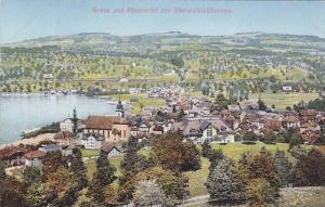 Gruss aus Kussnacht am Vierwaldstattersee, Lake Lucerne, Switzerland, 00-10s