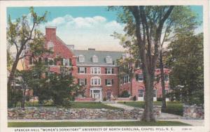 North Carolina Chapel Hill Spencer Hall Women's Dormitory University Of ...