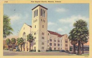 Exterior, First Baptist Church, Phoenix, Arizona,30-40s