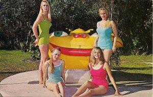 Beautiful Swimsuit Girls, Weeki Wachee, FL, Mermaid, Sexy Women,bathing Beauties