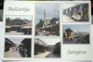 Bosnia and Herzegovina Sarajevo Bascarsija - unposted
