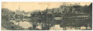 Bi-fold postcard: Frain an der Thaya, Austria (Now Czech Republic) , PU-1909