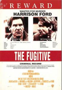 The Fugitive Movie Poster Postcard