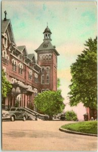 1949 Columbus, Ohio Hand-Colored Postcard Academy of St. Mary of the Springs