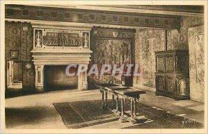 Old Postcard Chateaux of the Loire Chateau de Blois (Loir et Cher) Guard Room