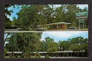 FL El Dorado Motel & Restaurant CROSS CITY FLORIDA PC