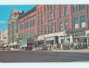 Pre-1980 STREET SCENE Published In Amsterdam New York NY W1126