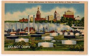 Mid Continental Oil Refinery, Tulsa Ok