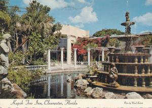 Kapok Tree Inn at Clearwater FL, Florida - Italian style Fountain - pm 1977
