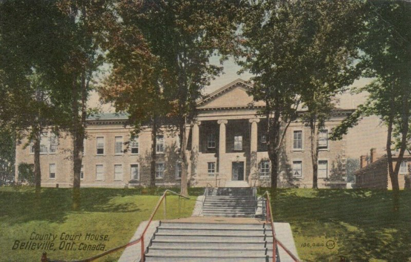 BELLEVILLE , Ontario, 1900-10s ; County Court House