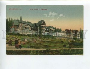 3172301 GERMANY SCHIERKE i. H. Hotel Furst zu Stolberg postcard