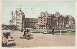 ATLANTIC CITY , New Jersey , 1911; The Marlborough-Blenheim, roller chairs