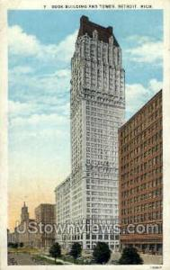 Book Building and Tower Detroit MI 1931