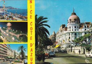 France Nice Promenade des Anglais L'hotel Negresco