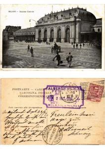 CPA MILANO. Stazione Centrale. ITALY (521726)