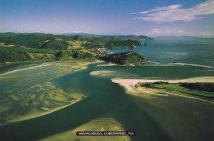 Whangapoua Coromandel Peninsula New Zealand Postcard