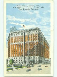 W-Border TULLER HOTEL Detroit Michigan MI HQ4919