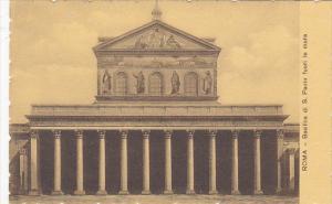 Italy Roma Rome Basilica di San Paolo fuori le mura