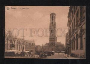 059610 BELGIUM Bruges La Grand Place Vintage PC
