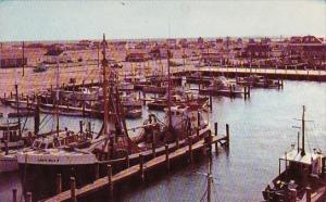 Rhode Island Galilee Harbor Showing Fishing Fleet At Point Judith