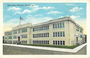 High School, Eugene, OR, Oregon, White Border